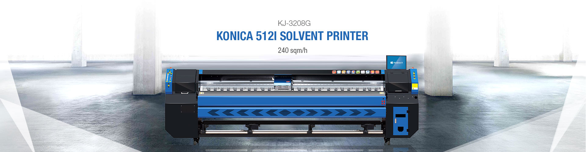 KINGJET KJ-3208G Konica 512i Large Format Printer