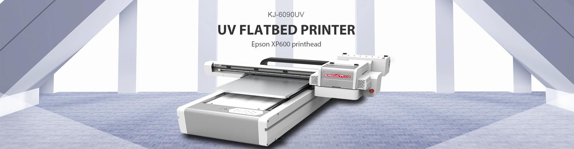 KINGJET KJ-6090UV Epson XP600 UV Flatbed Printer