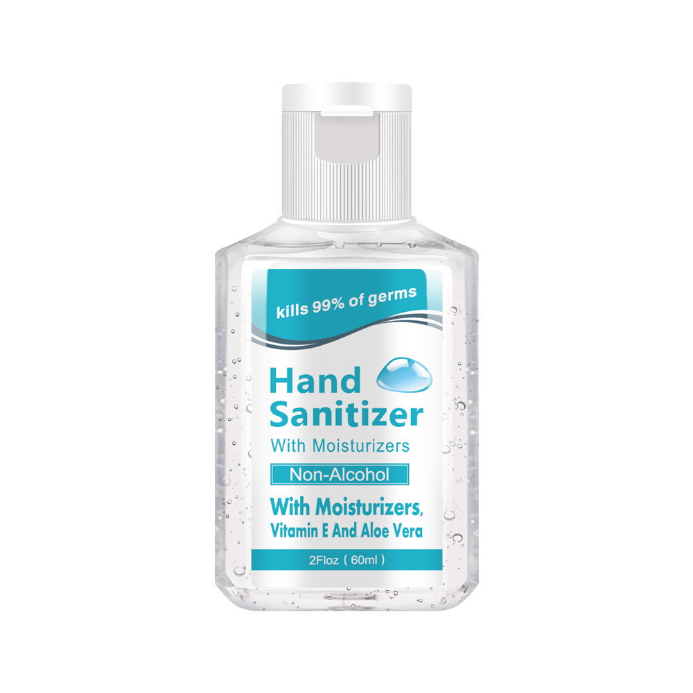 Portable Hand Sanitizer Waterless Custom Disinfectant